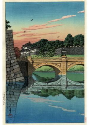 H-85 二重橋の朝
