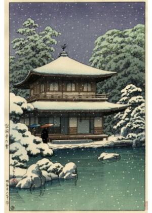 H-47 銀閣寺の雪