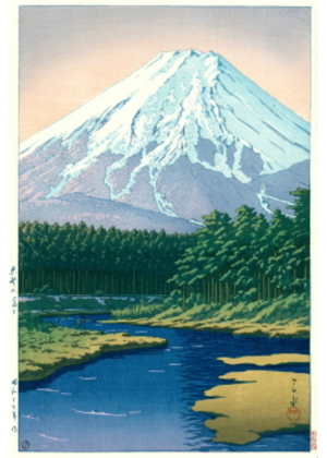 H-15 忍野の富士