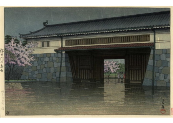 H-34 桜田門の春雨