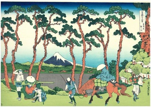 UF04 冨嶽三十六景 「東海道程ヶ谷」