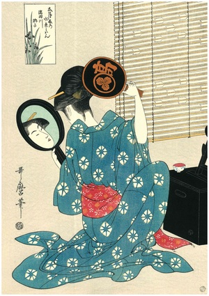歌麿 Ukiyoe Reproduction
