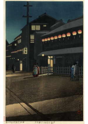 H-08 大坂宗右ヱ門町の夕