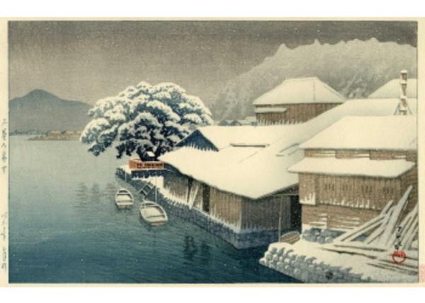 H-10 石巻の暮雪