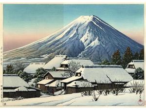 Hー201 吉田の雪晴