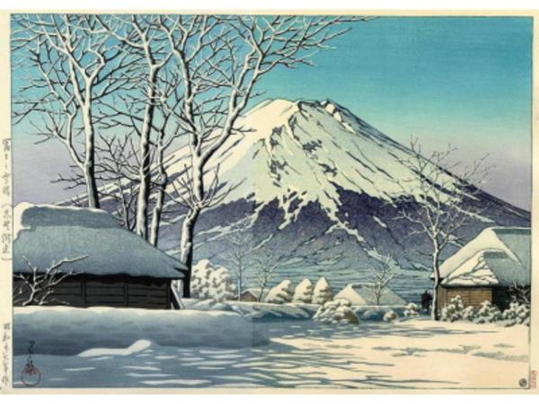 H-202 富士の雪晴(忍野附近)