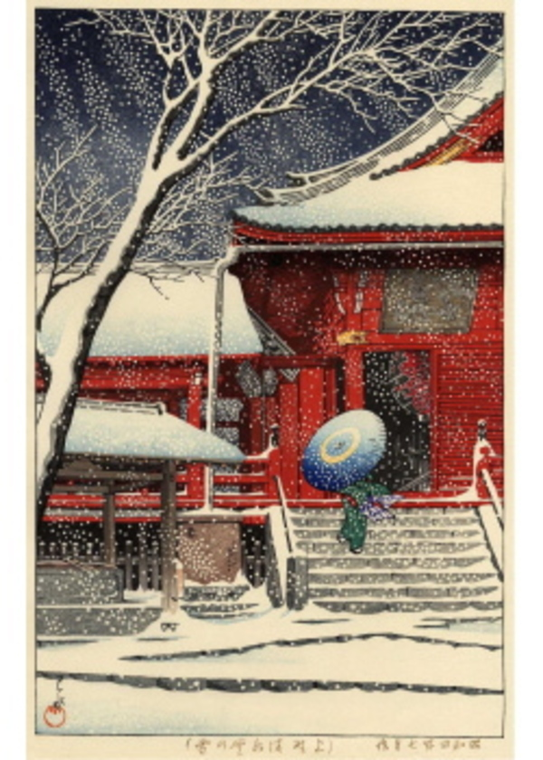 HKS-1 上野清水堂の雪
