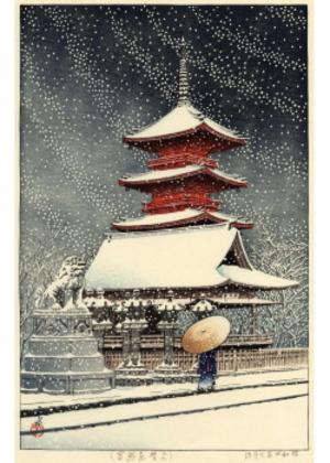 HKS-3 上野東照宮(の雪)