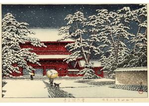 HKS-10 雪の増上寺