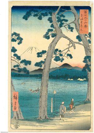 歌川広重 Hiroshige Ⅰ UKIYOE ORIGINAL