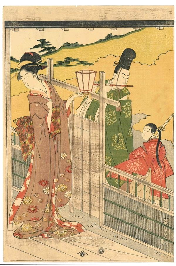 栄昌 牛若丸と浄瑠璃姫