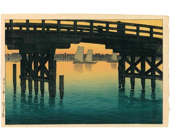 (終了いたしました)新版画の美 川瀬巴水木版画展のご案内